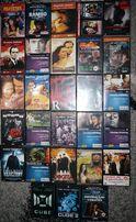 Filmy DVD - 25 szt. - Sin City, Uprowadzona 2, Osaczony, Cube i inne