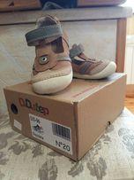 Детская обувь, детские демисезонные кожаные туфельки D.D.tep, 20 разме