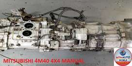 IMPORTED USED MITSUBISHI 4M40 4X4 MANUAL FLR GEARBOX FOR SALE AT MYM A