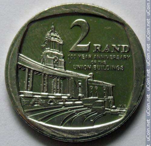 R2.00 Coin Union Building 0