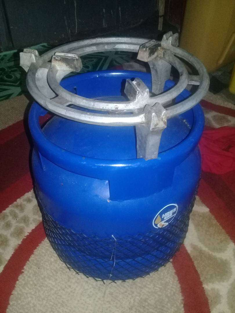 6kg hass gas cylinder with grill 0