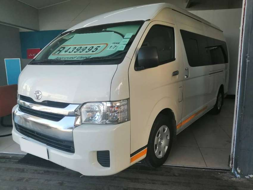 2017 Toyota Quantum 2.5 D-4D 14-seater with ONLY 120000kms 0