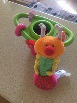 Игрушка на присоске гусеница от taf toys качественная