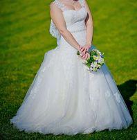 Продам свадебное платье Дабра + фата (размер 44)
