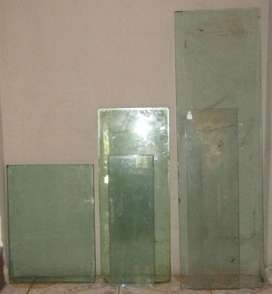 Laminated Security Glass Panes - 7 pieces