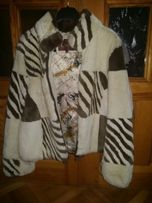 Натуральная шубка курточка, кролик рекс (бобрик, шиншила)