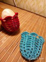 Чехольчики вязаные для пасхальных яиц