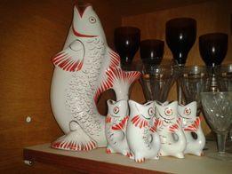 Продам статуэтку Рыба с рыбками