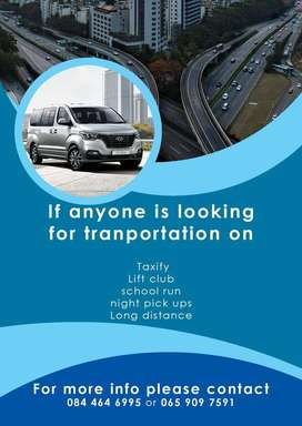 SCHOLAR TRANSPORT AND TAXIFY/UBER SERVICES