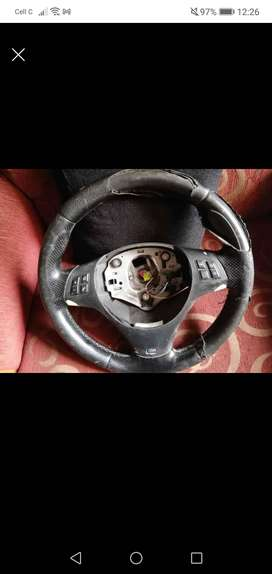 Bmw steering without airbags