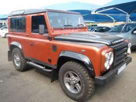 2010 Land Rover Defender 90 Fire & Ice Station Wagon