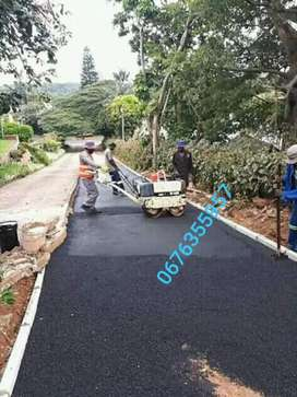 We do tarring , paving and painting