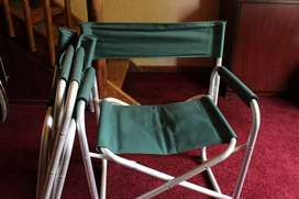 2 Directors chairs