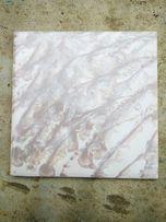 Плитка облицювальна 15х15 , мармур коричневий, біла з синім візерунком