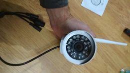 IP WiFi camera 720p внешняя, камера видеонаблюдения, на флешку
