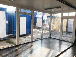 Kontener PAWILON Handlowy biurowy duży pod działalność biuro 30m2