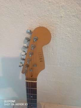 Lead electric guitar.with strap