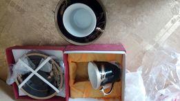 Кофейные чашки с блюдцами 2 шт. Elina