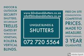 Blinds and Shutter installations