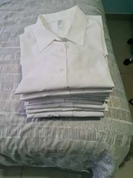 12 x White girls school blouses for sale size 36 and 38