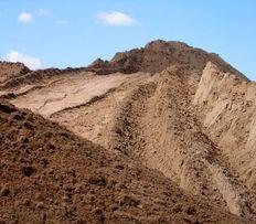 Песок, щебень, шлак, чернозем, бутовый камень, отсев, глина и пр.
