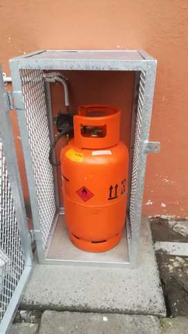 Gas Tank Cage