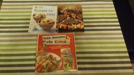 Nowe książki kucharskie w języku niemieckim