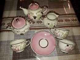 Сервиз чайный с позолотой, пр-во СССР