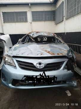 2018 TOYOTA COROLLA QUEST 1.6 STRIPPING FOR PARTS