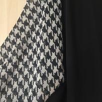 Koszula damska w pepitkę, wycięte ramiona, rozmiar L/XL