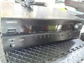 Amplifier Onkyo 5.1 Channel A/V Home Theatre Receiver