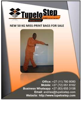 High Quality NEW 50 Kg Bags (Mis-prints)