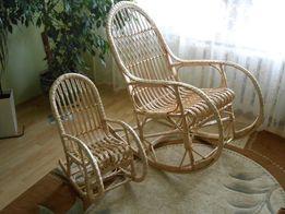 Крісло гойдалка. Кресло качалка из лозы. (З доставкою по Україні)