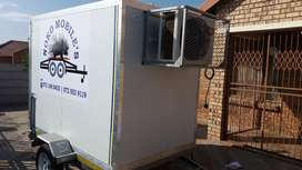 Mobile Freezers/toilets for hire