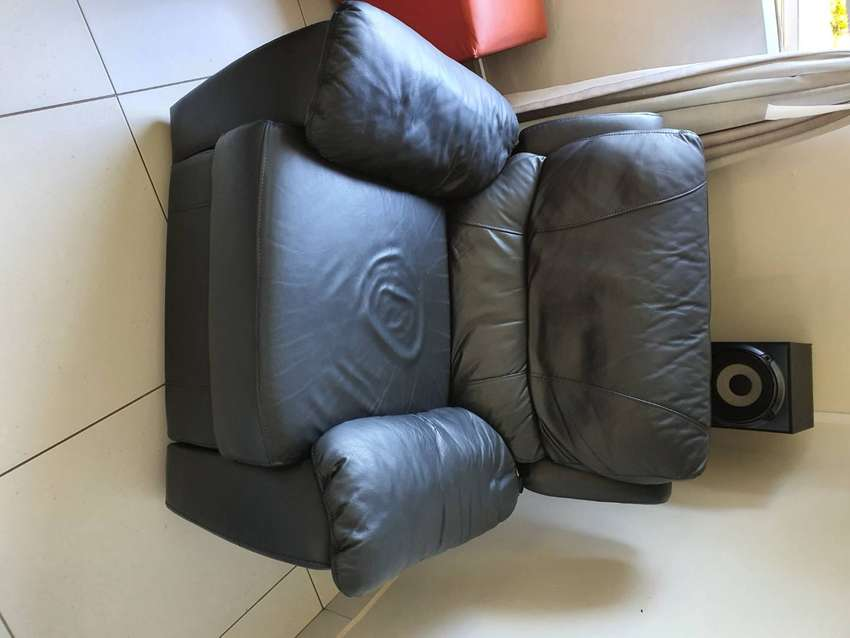 6 Seater Leather Recliner Couches