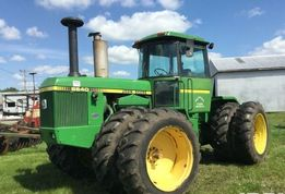 Трактор John Deere 8640