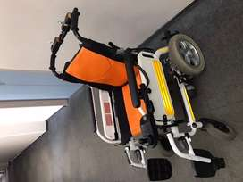 """Lightweight Foldable Electric Wheelchair  16"""""""
