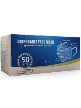 Disposable 3 Ply Mask (50 pieces/box)
