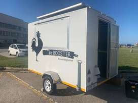Food Trailer For SALE(solar powered)