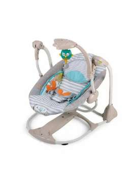 Electronic swinging chair