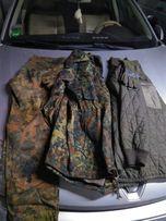 Niemiecka kurtka Parka, podpinka, spodnie, rękawiczki