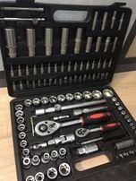 Набор головок ключей инструментов LEX 108 елементов хром-ванадий