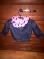 Курточка куртка теплая GeeJay ветровка демисезонная 9 12+подарок