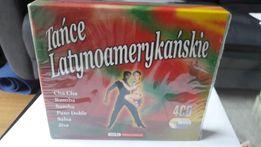 Tańce latynoamerykańskie 4xCD