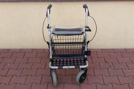 Chodzik balkonik 4-kołowy wózek rehabilitacyjny Szczecin tacka