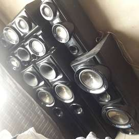 7 set LG speakers