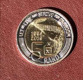 Mandela coin (let strive for freedom)