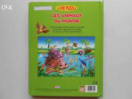 Les Animaux du Monde PUZZLE w j. francuskim Zwierzęta świata