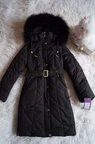 Зимнее пальто, пуховик, для девочки, новое р. 32-36