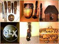 Image of 14 African items to decorate your living room with a african feel